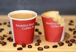 tazzina da caffè commestibile