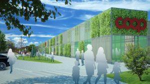 immagine esterno di coop green