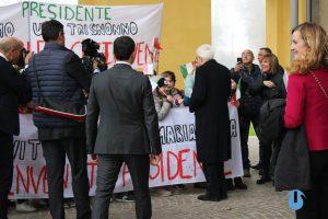 Mattarella parla con i ragazzi dell'Università di Parma