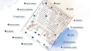 Mappa Esselunga per trovare i vari reparti