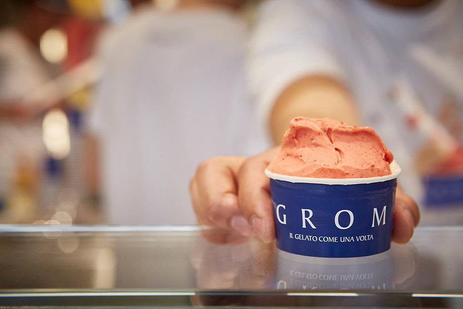 coppetta di gelato Grom