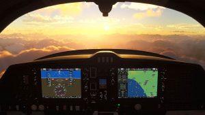 Con Flying Simulator 2020 il computer si trasforma in un aereo